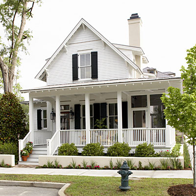 Small home charm hard hat and heels Southern living change of address